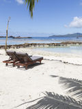 Vacances de tourisme de plage en Afrique Images libres de droits