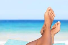 Vacances de vacances détendant le concept Photos libres de droits