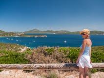 Vacances de vacances par la mer image libre de droits