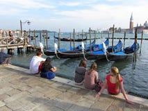 Vacances de Venise Italie Image libre de droits