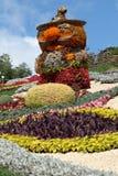 Vacances des fleurs à Kiev, Ukraine Photos stock