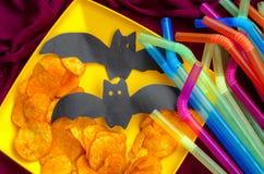 Vacances du ` s d'enfants avec des décorations et des puces Photographie stock libre de droits