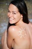 vacances du soleil Images libres de droits