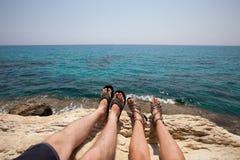 Vacances en Chypre Images libres de droits