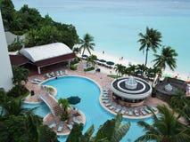 Vacances en Guam Image libre de droits