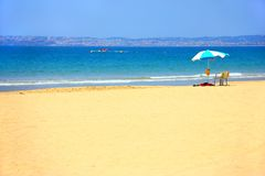 Vacances en mer Images libres de droits