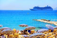 Vacances en mer Image stock