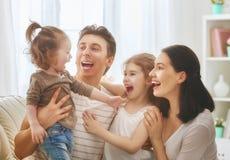 Vacances et unité de famille Photographie stock libre de droits