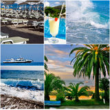 Vacances et vacances Photo stock