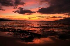 Vacances hawaïennes de plage photographie stock libre de droits