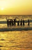 Vacances heureuses Photographie stock