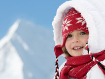 Vacances heureuses de l'hiver Images libres de droits