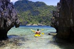Vacances idylliques Photographie stock libre de droits