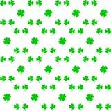 Vacances irlandaises Jour de Patricks de saint Laisse le trèfle Illustration de vecteur Oxalide petite oseille irlandais illustration stock