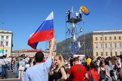 Vacances - jour de St Petersburg Photos libres de droits