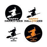 Vacances magiques de mystère de Halloween de sorcière Photographie stock libre de droits