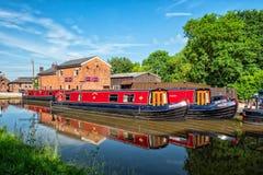 Vacances Narrowboats, Worcester photos stock