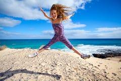 Vacances par la mer Photo libre de droits