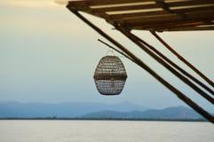 Vacances par la mer Images libres de droits