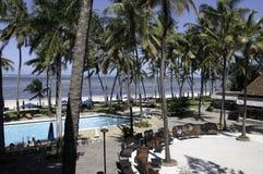 Vacances par la plage Image stock