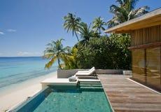 Vacances parfaites de calme. Image libre de droits