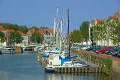 Vacances, port de yacht Image libre de droits