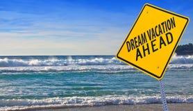 Vacances rêveuses en avant Image stock