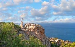 Vacances sardes Photo libre de droits