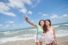 Vacances Selfie Photographie stock