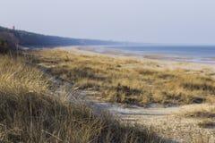 Vacances sur la mer baltique Photo libre de droits