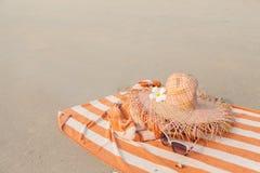 Vacances sur la plage Photo libre de droits