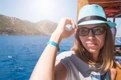 Vacances sur une croisière de la mer Méditerranée Photo libre de droits