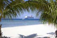Vacances tropicales Image libre de droits