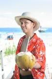Vacances tropicales d'île Image libre de droits