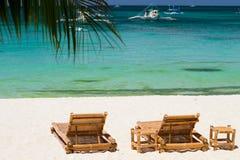 Vacances tropicales parfaites de plage Photos stock