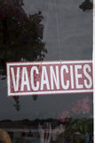 Vacancies Sign Stock Photography