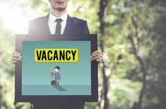 Vacancy Career Recruitment Available Job Work Concept stock photo