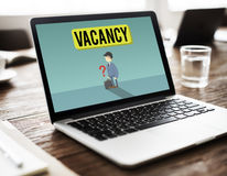 Vacancy Career Recruitment Available Job Work Concept Royalty Free Stock Photo