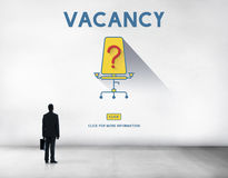 Vacancy Job Available Vacant Job Concept Stock Photography