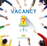 Vacancy Job Available Vacant Job Concept Royalty Free Stock Photography
