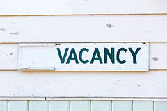 Vacancy Stock Photo