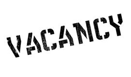 Vacancy rubber stamp Royalty Free Stock Photo
