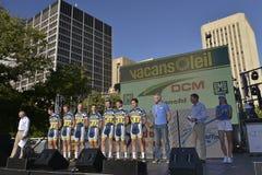VACANSOLEIL DCM Fachmann-Radsportteam Stockbilder