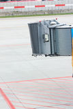 Vacant Airplane Jetway Royalty Free Stock Photo