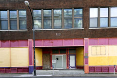 Vacant Buildings Royalty Free Stock Images