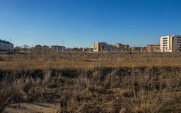 Vacant lots for a Housing Estate under Construction Stock Photography