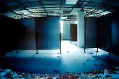Vacant Office. Empty, abandoned, vacant office space Royalty Free Stock Image