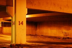 Vacant parking garage 2 Royalty Free Stock Photos