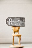Vacant post idea Stock Photography