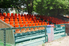 Vacant Rodeo Seats Stock Photography